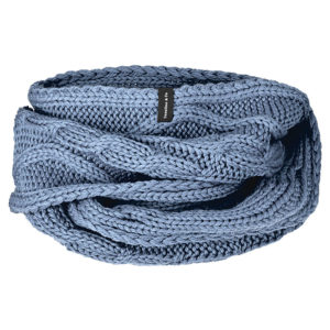 Loopschal denimblue